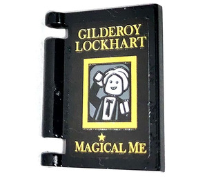 LEGO Book Cover with GILDEROY LOCKHART MAGICAL ME Sticker (24093)