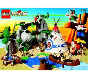 LEGO Boulder Cliff Canyon Set 6748 Instructions