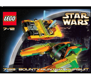 LEGO Bounty Hunter Pursuit Set 7133 Instructions