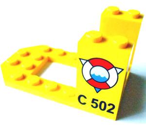 LEGO Bracket 4 x 7 x 3 with Decoration (30250)