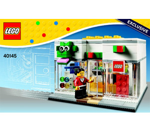 LEGO Brand Retail Store Set 40145 Instructions