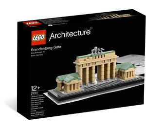 LEGO Brandenburg Gate Set 21011 Packaging