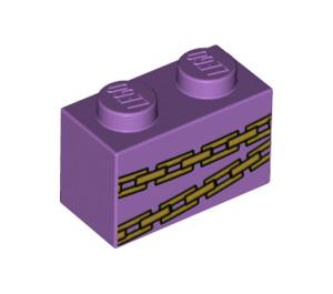 LEGO Brick 1 x 2 with Decoration (3004 / 68965)