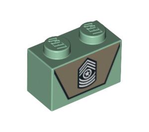 LEGO Brick 1 x 2 with Decoration (3004 / 94775)