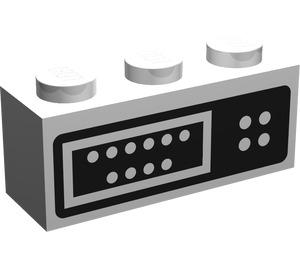 LEGO Brick 1 x 3 with Control Panel (45505)