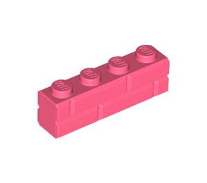 LEGO Brick 1 x 4 with Embossed Bricks (15533)
