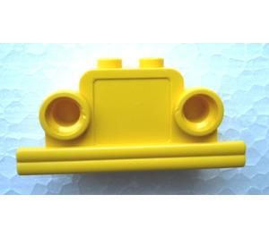 LEGO Brick, 1 x 4 x 2 Bell Shape with Headlights
