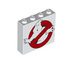 LEGO Brick 1 x 4 x 3 with Ghostbusters Logo (49311 / 68407)