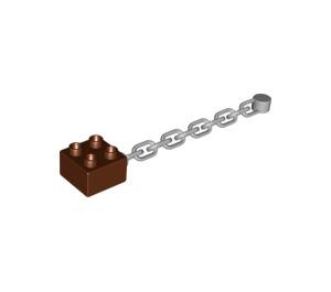 LEGO Brick 2 x 2 with Chain (54860)