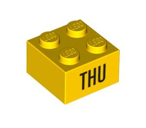 LEGO Brick 2 x 2 with Decoration (14803 / 97630)