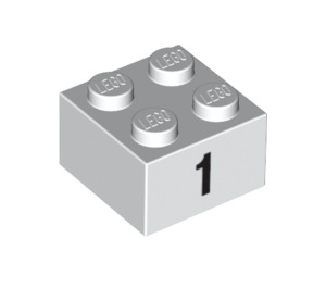 LEGO Brick 2 x 2 with Decoration (14810 / 97637)