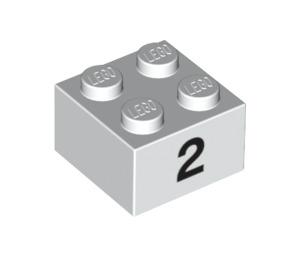 LEGO Brick 2 x 2 with Decoration (14813 / 97638)