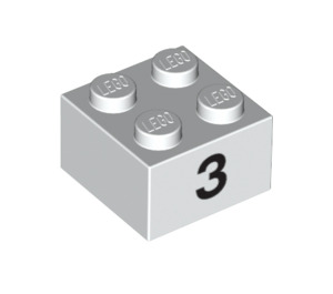 LEGO Brick 2 x 2 with Decoration (14819 / 97639)