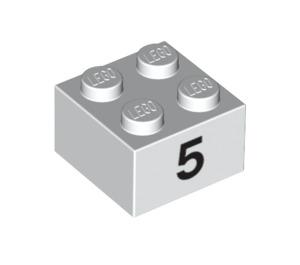 LEGO Brick 2 x 2 with Decoration (14832 / 97641)