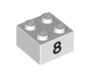 LEGO Brick 2 x 2 with Decoration (14844 / 97644)