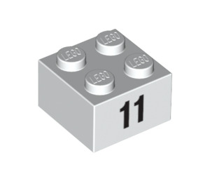 LEGO Brick 2 x 2 with Decoration (14864 / 97647)