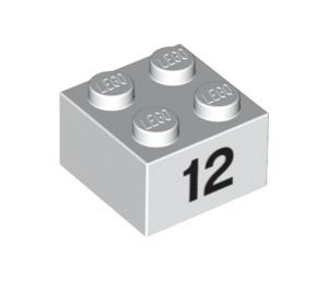 LEGO Brick 2 x 2 with Decoration (14867 / 97648)