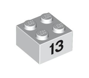 LEGO Brick 2 x 2 with Decoration (14870 / 97649)
