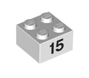 LEGO Brick 2 x 2 with Decoration (14878 / 97653)