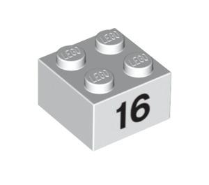 LEGO Brick 2 x 2 with Decoration (14882 / 97654)
