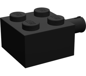 LEGO Brick 2 x 2 with Pin and No Axle Hole (4730)