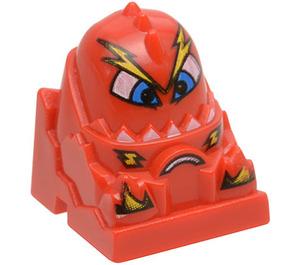 LEGO Brick 2 x 2 with Scratch Racers Figure (30598)