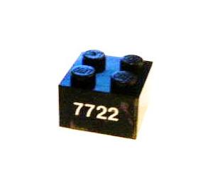 LEGO Brick 2 x 2 with Sticker from Set 7722 (3003)