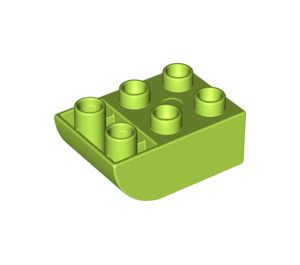 LEGO Brick 2 x 3 with Inverted Bow (98252)