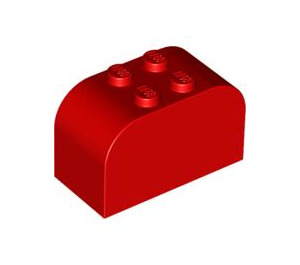 LEGO Brick 2 x 4 x 2 with Curved Top (4744)