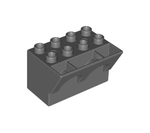 LEGO Brick 4 x 3 x 3 Wry Inverted (51732)