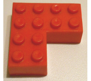 LEGO Brick 4 x 4 Corner without Bottom Tubes