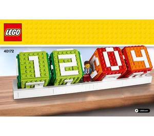 LEGO Brick Calendar Set 40172 Instructions