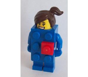LEGO Brick Suit Girl Minifigure