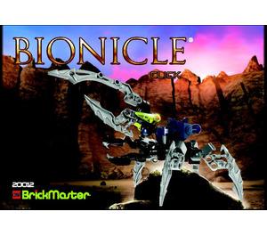 LEGO BrickMaster - Bionicle Set 20012 Instructions