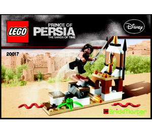 LEGO BrickMaster Dagger Trap Polybag Set 20017 Instructions