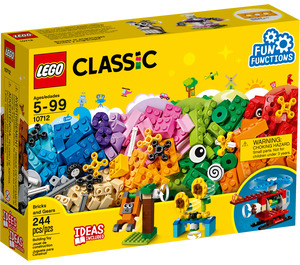 LEGO Bricks and Gears Set 10712 Packaging