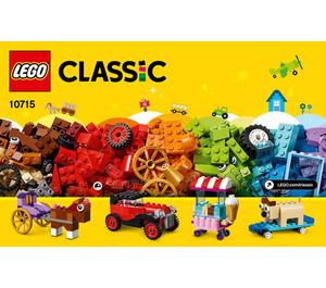 LEGO Bricks on a Roll Set 10715 Instructions
