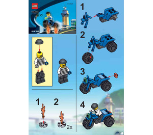 LEGO Brickster's Trike Set 6732 Instructions