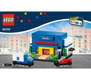 LEGO Bricktober Toys R Us Store Set 40144 Instructions
