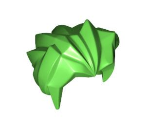 LEGO Bright Green Angular Cartoon Style Hair (53982)
