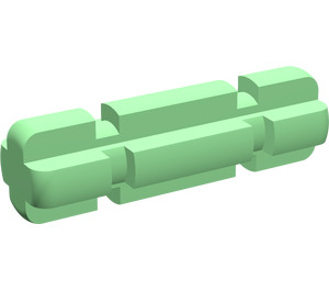 LEGO Bright Green Axle 2 with Grooves
