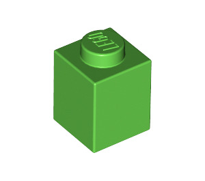LEGO Bright Green Brick 1 x 1 (3005)