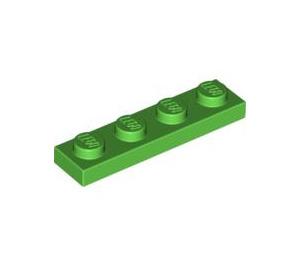 LEGO Bright Green Plate 1 x 4 (3710)