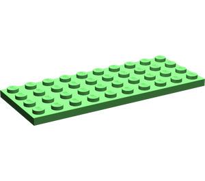 LEGO Bright Green Plate 4 x 10 (3030)