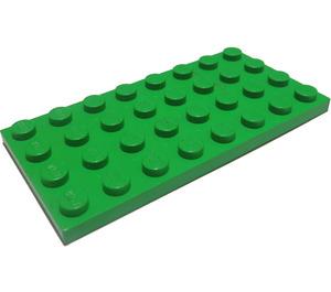 LEGO Bright Green Plate 4 x 8 (3035)