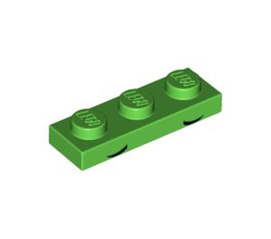 LEGO Bright Green Queasy Unikitty Plate 1 x 3 (38890)