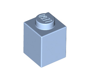 LEGO Bright Light Blue Brick 1 x 1 (3005)