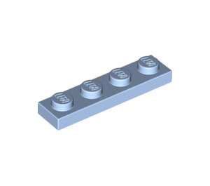 LEGO Bright Light Blue Plate 1 x 4 (3710)
