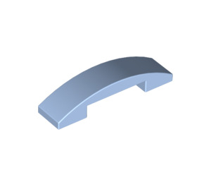 LEGO Bright Light Blue Slope 1 x 4 Curved Double (93273)