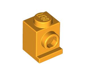 LEGO Bright Light Orange Brick 1 x 1 with Headlight and No Slot (4070)